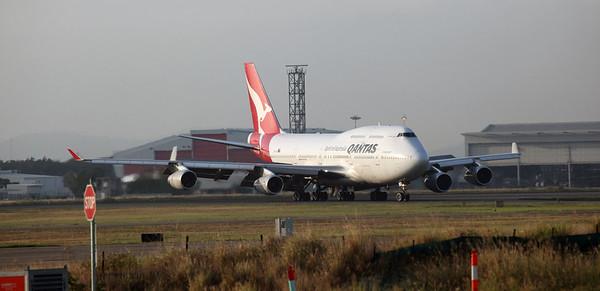 Qantas QF36 747 Final Time Into Brisbane 1st December 2018
