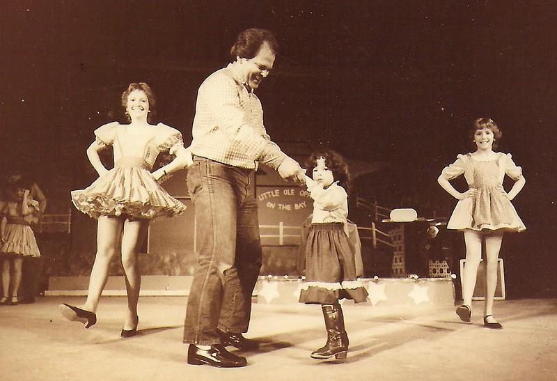 Leah Houghton, Dan Holman, Quinn, Mary Houghton 1984