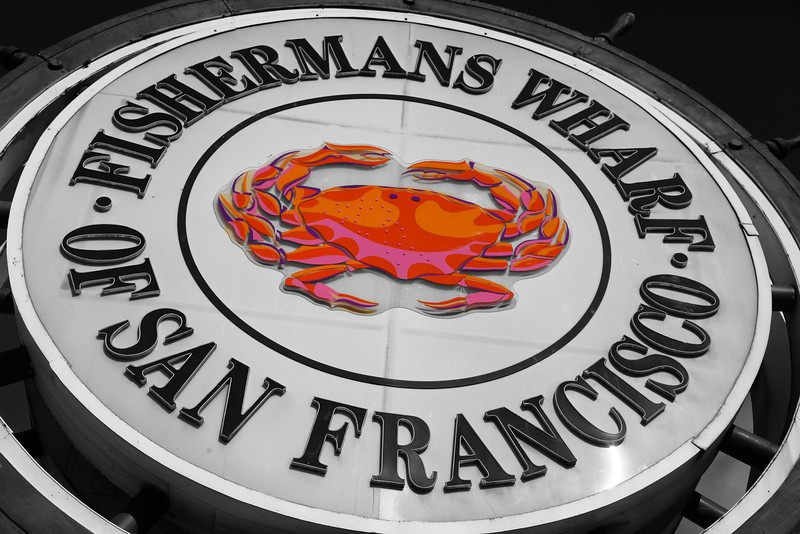 Crab Signage