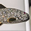 3.00ctw Art Deco Diamond Fish Brooch 5