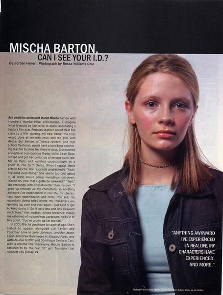Mischa Barton in Shout! Magazine.jpg