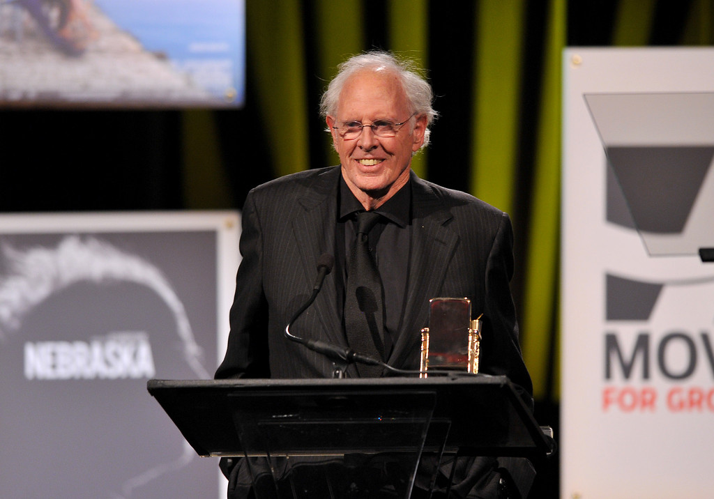 ". 2014 Academy Award Nominee for Best Actor in a Leading Role: Bruce Dern in ""Nebraska.\"" (Photo by Vince Bucci/Invision for AARP Media/AP Images)"