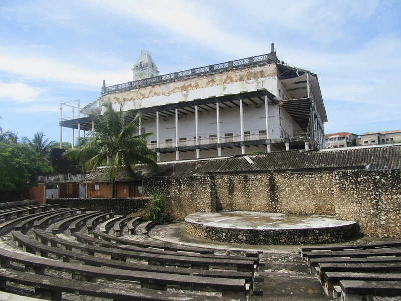 041_The Arab Fort. 1699. Amphitheatre. 1990's. Housed the Zanzibar Film Festival.JPG