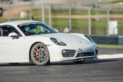 #13 White Porsche Cayman