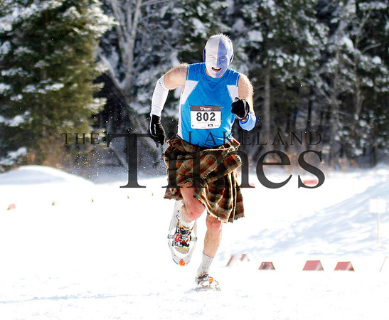 2nd annual Moose Tracks Snowshoe Race