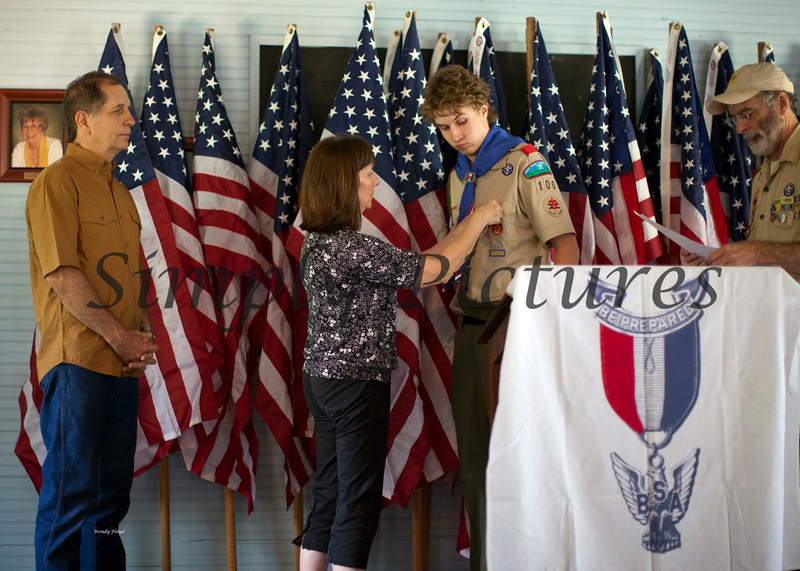 Eagle Scout Ceremony for Weston046