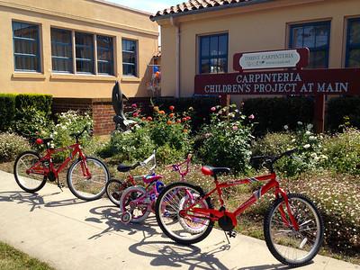 Carpinteria Health Fair : Bike GiveAway 2013