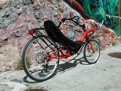 HP Velotechnik Speed Machine Recumbent Bicycle