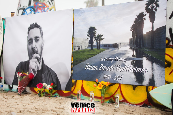 02.13.16 Brian Zarate's Memorial and Paddle Out