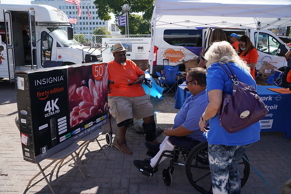 2021 Disability Network Community Action @ Ribs & Soul Festival