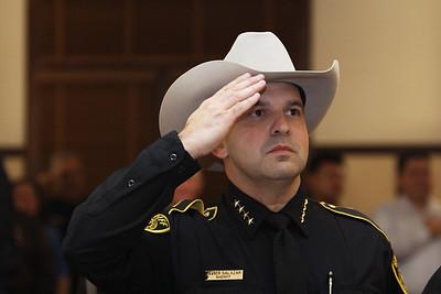 2016 Sheriff Javier Salazar Swearing in New Years Eve