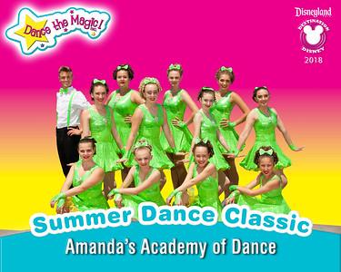 Summer Dance Classic at Disneyland-July 2018
