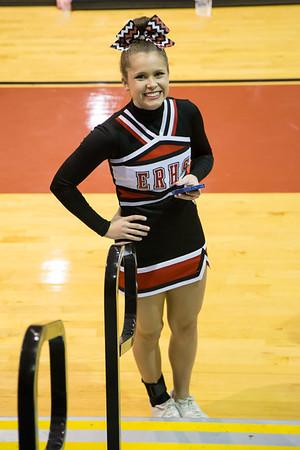 2014 Regional Cheer Meet at ERHS