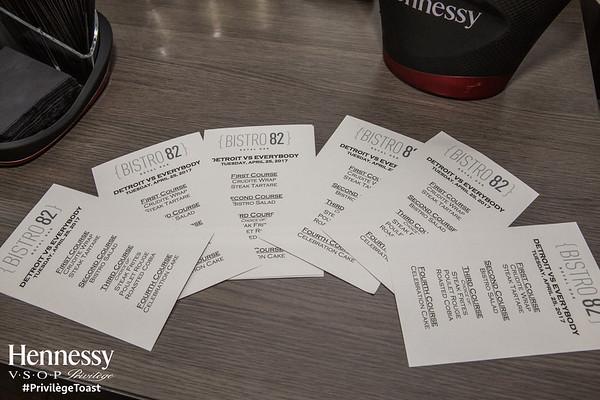 Hennessy Privilege Event | Detroit vs Everybody | Bistro 82