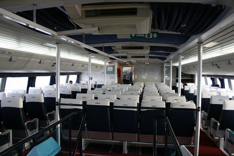 2011 - On board DSC SNAV ALCIONE : upper lounge.