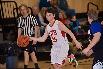 LTS M.S. Boys Basketball vs FB photos by Gary Baker