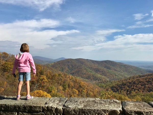 Shenandoah Hiking 2017