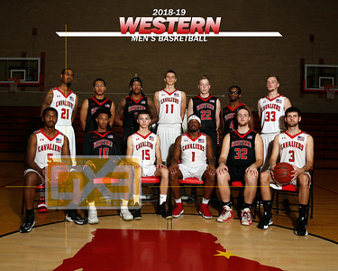 Western men's basketball MBB1819
