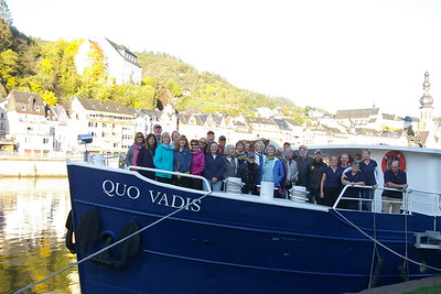 Germany, Luxembourg & France Bike & Boat: Mosel River Valley Oct 2019