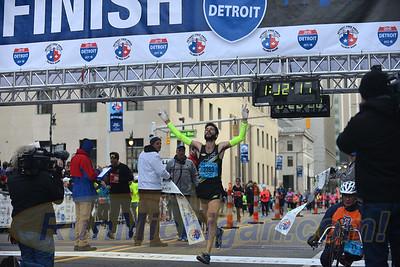 Intl. Half & Marathon Winner Photos - 2015 Detroit Marathon