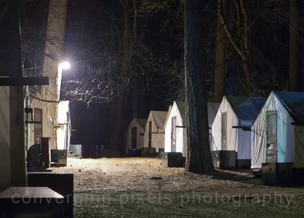 Tent cabins at Camp Curry.  2701
