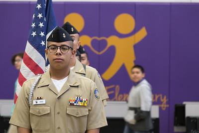 Purple Heart Elementary Veterans Day