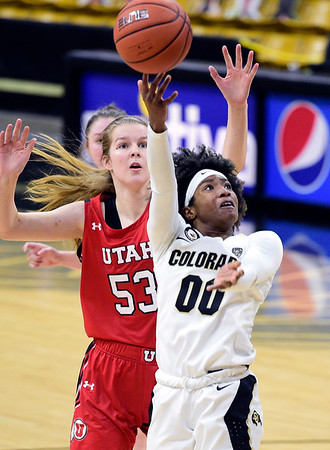 Photos: Colorado Beats Utah 80-50 in WBB