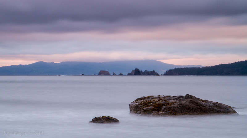 Looking North from Cape Alava