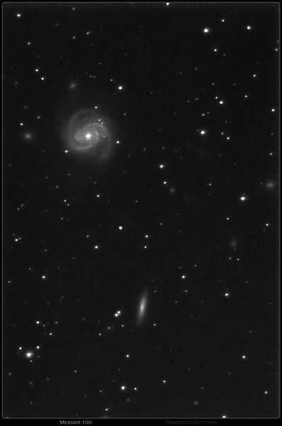 M100 and NGC4312