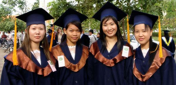 School graduation ceremony