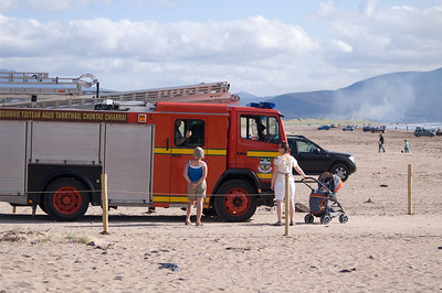 Dune Grass Fire, September 2008