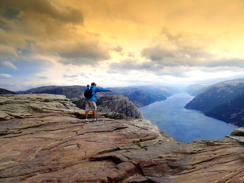 Preikestolen Rock, Norway