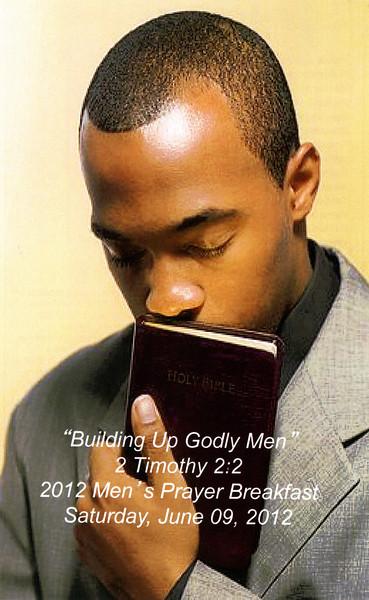 Men's Prayer Breakfast -- 06/09/2012