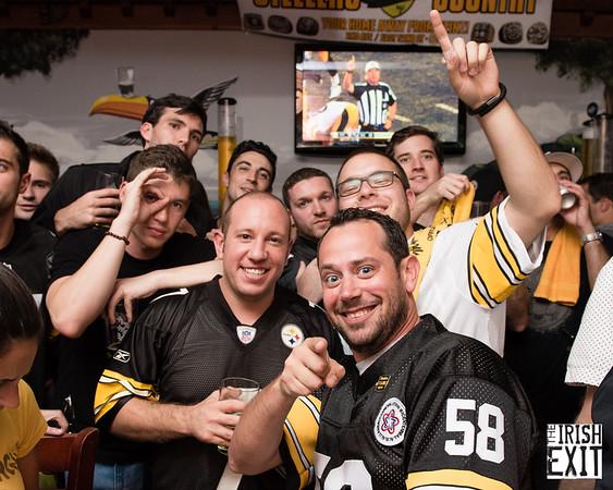 Irish Exit - Steelers 091015