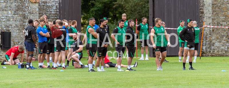 Northampton Saints, Blakiston Challenge, Castle Ashby, 13 August 2021