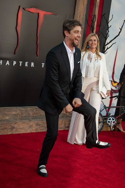 """WESTWOOD, CA - AUGUST 26: Andy Muschietti and Barbara Muschietti attend the Premiere Of Warner Bros. Pictures' """"It Chapter Two"""" at Regency Village Theatre on Monday, August 26, 2019 in Westwood, California. (Photo by Tom Sorensen/Moovieboy Pictures)"""