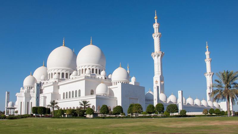Abu Dhabi | Sheikh Zayed Grand Mosque