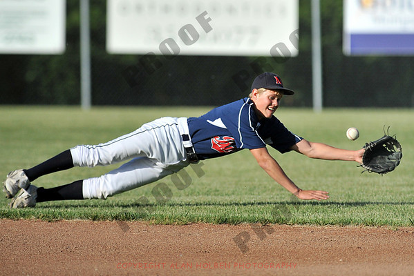 Varsity Baseball - Mason vs Haslett - District