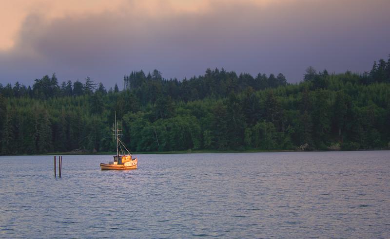 Yaquina Bay Fishing Boat