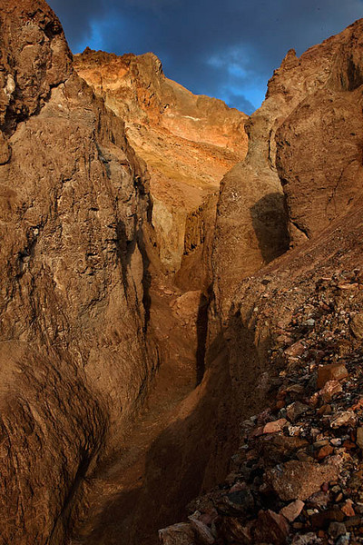 Canyon Narrows in the Amargosa Range