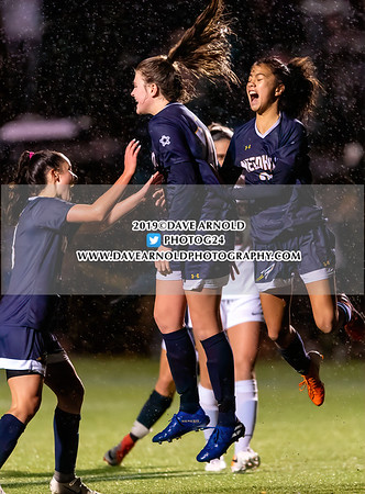 11/7/2019 - Girls Varsity Soccer - D1 South Quarter Final - Wellesley vs Needham