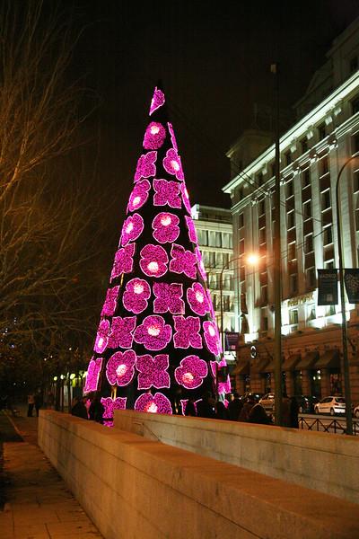 Madrid night - December, 2009