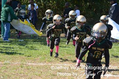10-20-2013 Montgomery Village Sports Association Chiefs vs LRAA Super Tiny Mites, Photos by Jeffrey Vogt Photography