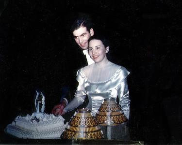 Sisi and Byron's Wedding - Dec 22, 1945