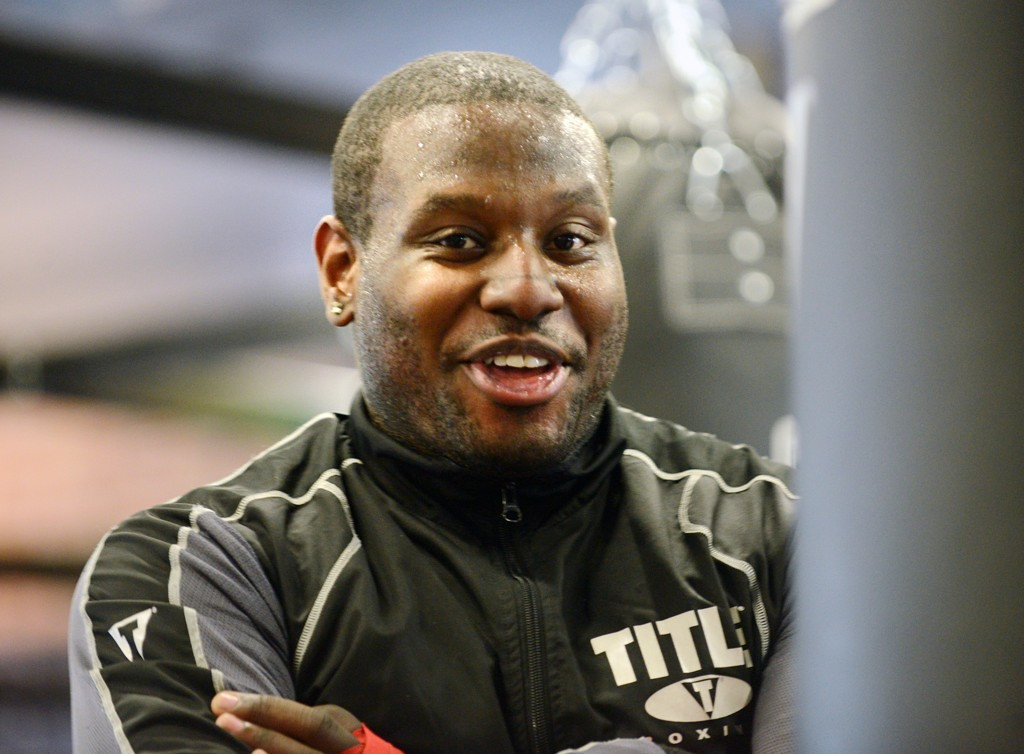 . Irie Collins is one of the instructors at Title Boxing Club.  (Pioneer Press: Chris Polydoroff)