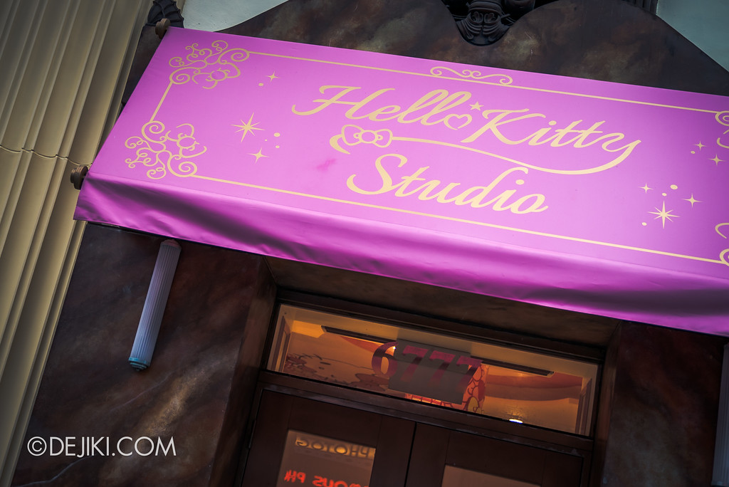 Universal Studios Singapore Park Update November 2017 - Hello Kitty Studio