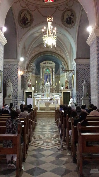Filipino mass at St. John ba Harim. Click to play 23-second video