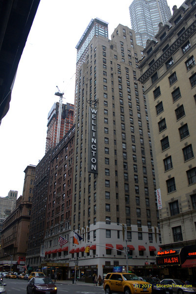 Wellington Hotel, Carnegie Hall