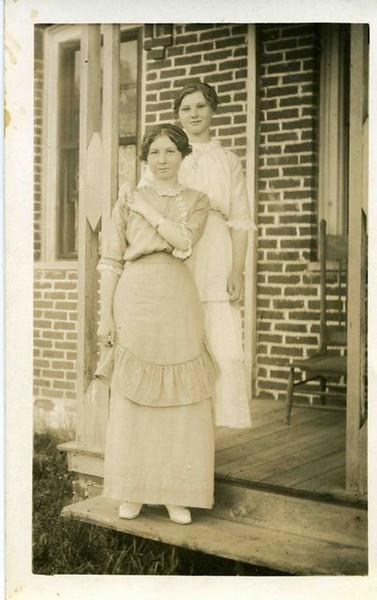 Helen and Irene Allen