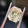 4.71ct Antique Asscher Cut Diamond GIA WX VS2 5